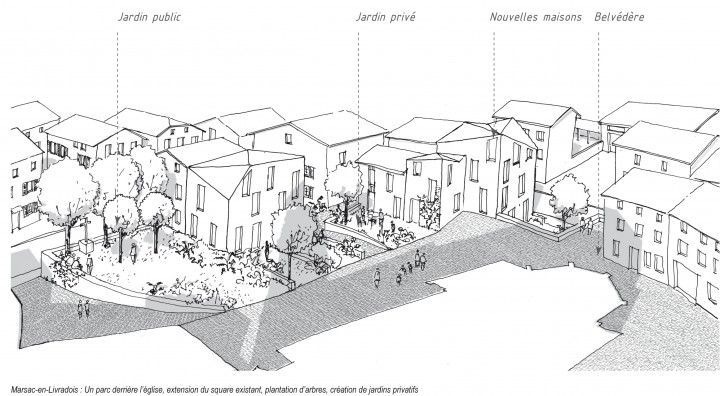 plan d39amenagement de bourg marsac en livradois boris With dessin plan de maison 12 plan damenagement de bourg marsac en livradois boris