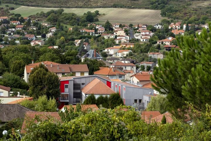 Vue de village