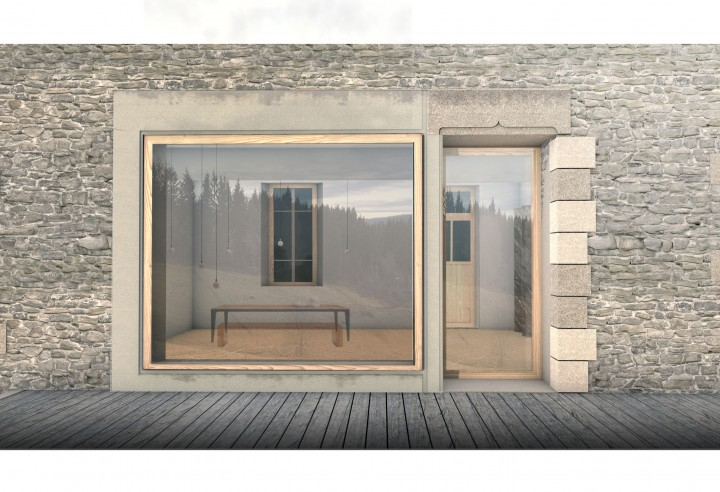 Vue détaillée façade SUD2